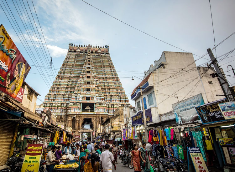 Ranganathaswamy Temple in Srirangam