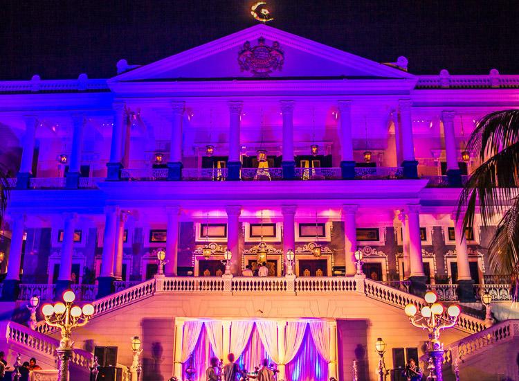 Falaknuma Palace in Hyderabad