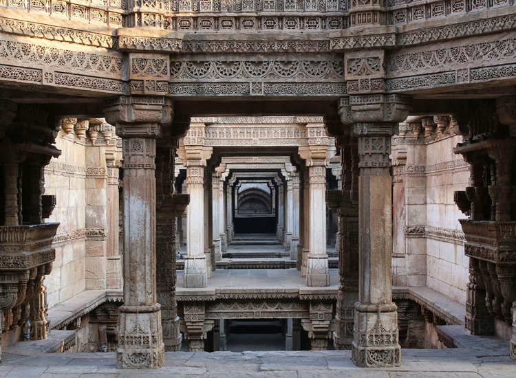 Adalaj Stepwell in Adalaj, Gujarat