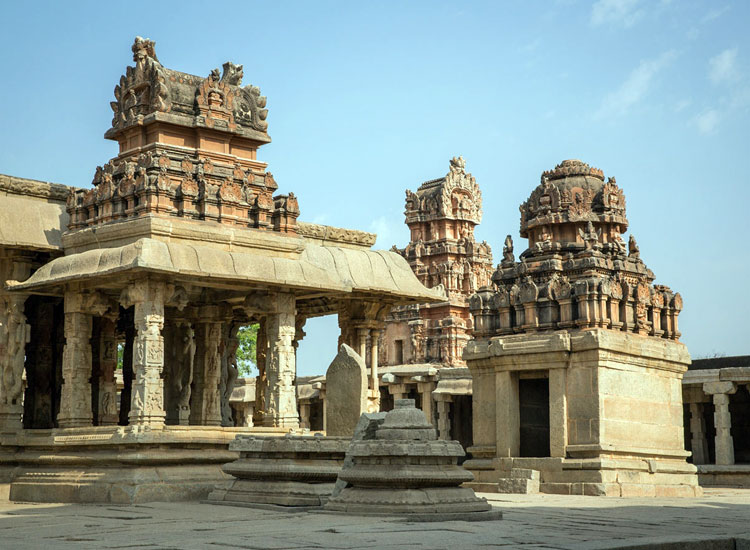 Achyuta raya Temple, Hampi in India