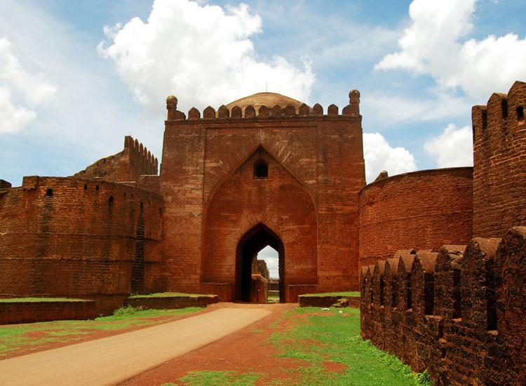 Bidar Fort in Bidar, India