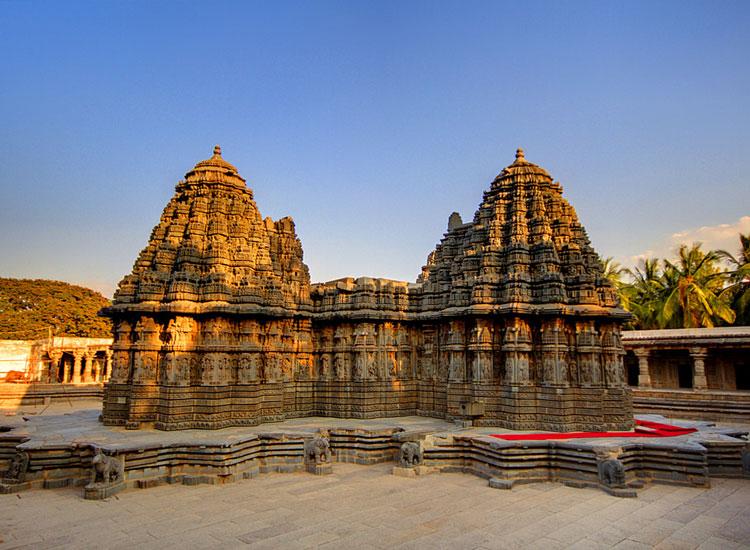 Somnathpur heritage site in Karnataka