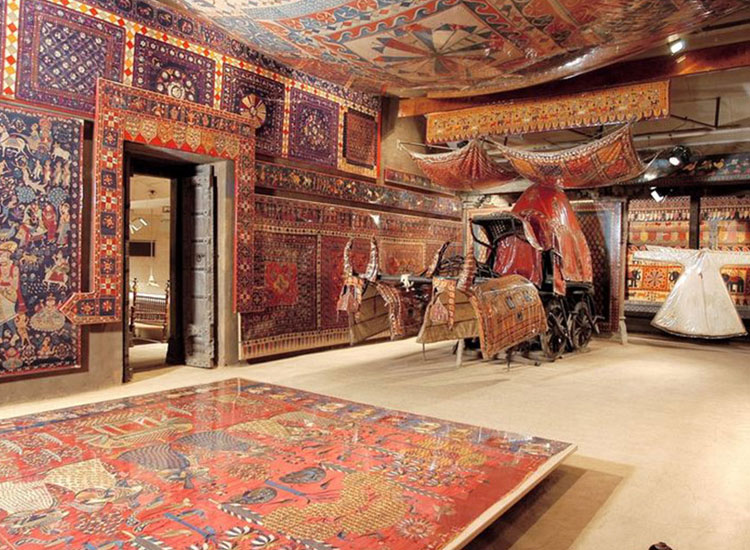 Calico Museum of Textiles, Gujarat in India