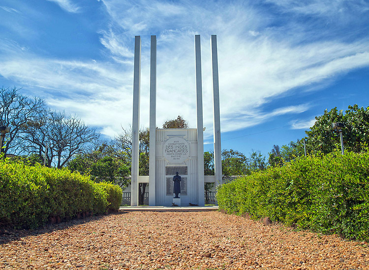 French war memorial Pondicherry