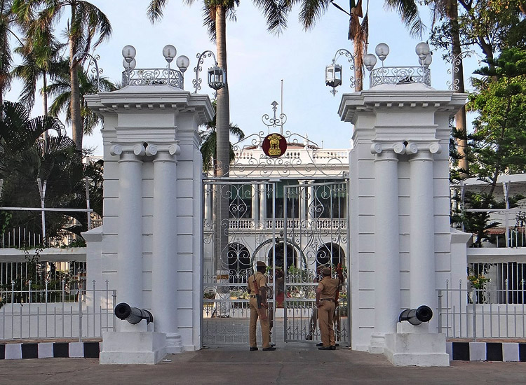 Raj Niwas in Pondicherry