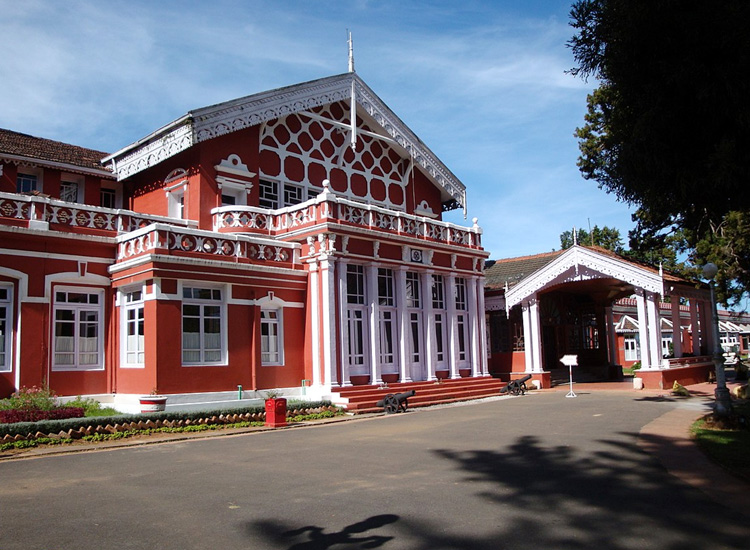 Ferrnhills Royale Palace in Ooty
