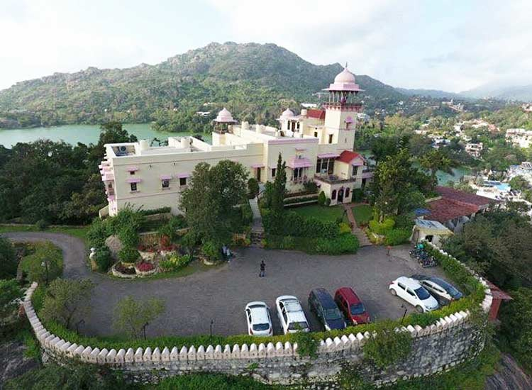 jaipur house, mount abu