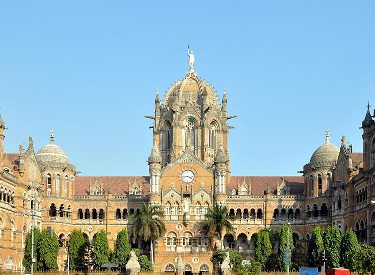 Chhatrapati Shivaji Maharaj Terminus of Mumbai