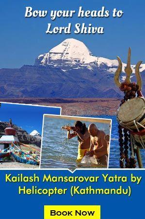 kailash-mansarovar yatra by helicopter